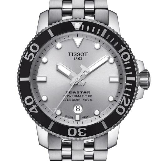 [新品] TISSOT ティソ T-Sport SEASTAR 1000 パワーマティック 80 T120.407.11.031.00