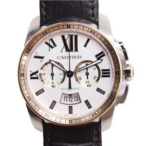 [未使用] Cartier カルティエ  ステンレス ホワイト 自動巻き W7100043