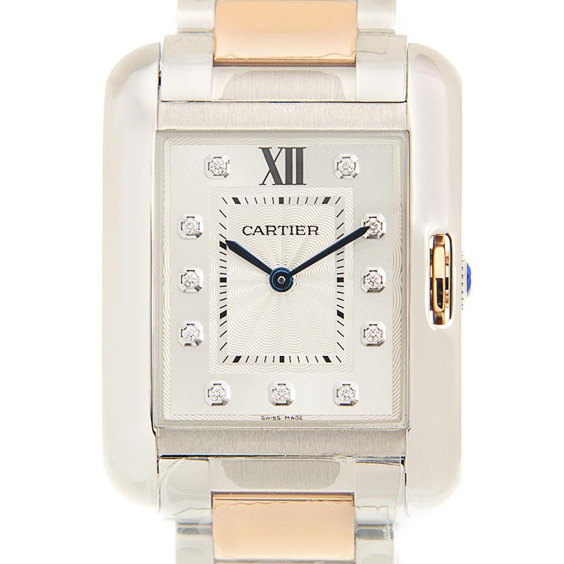 [取り寄せ/新品] Cartier カルティエ タンク アングレーズ WT100032